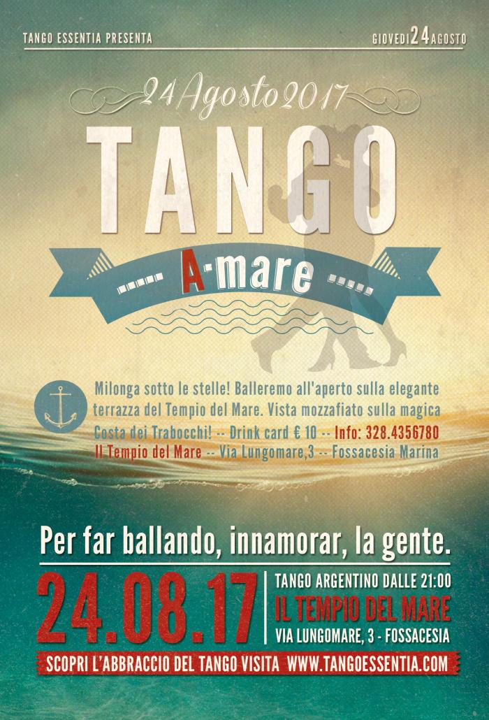Tango argentino a Fossacesia con Tango Essentia