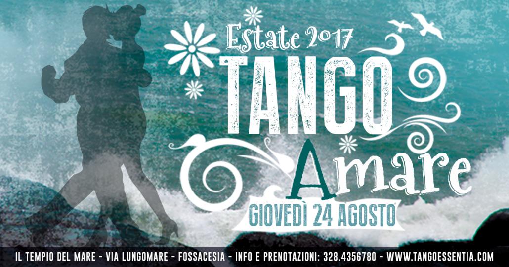 Estate 2017 con Tango Essentia
