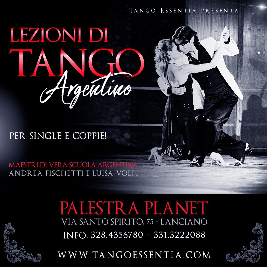 Lezioni di Tango Argentino a Lanciano