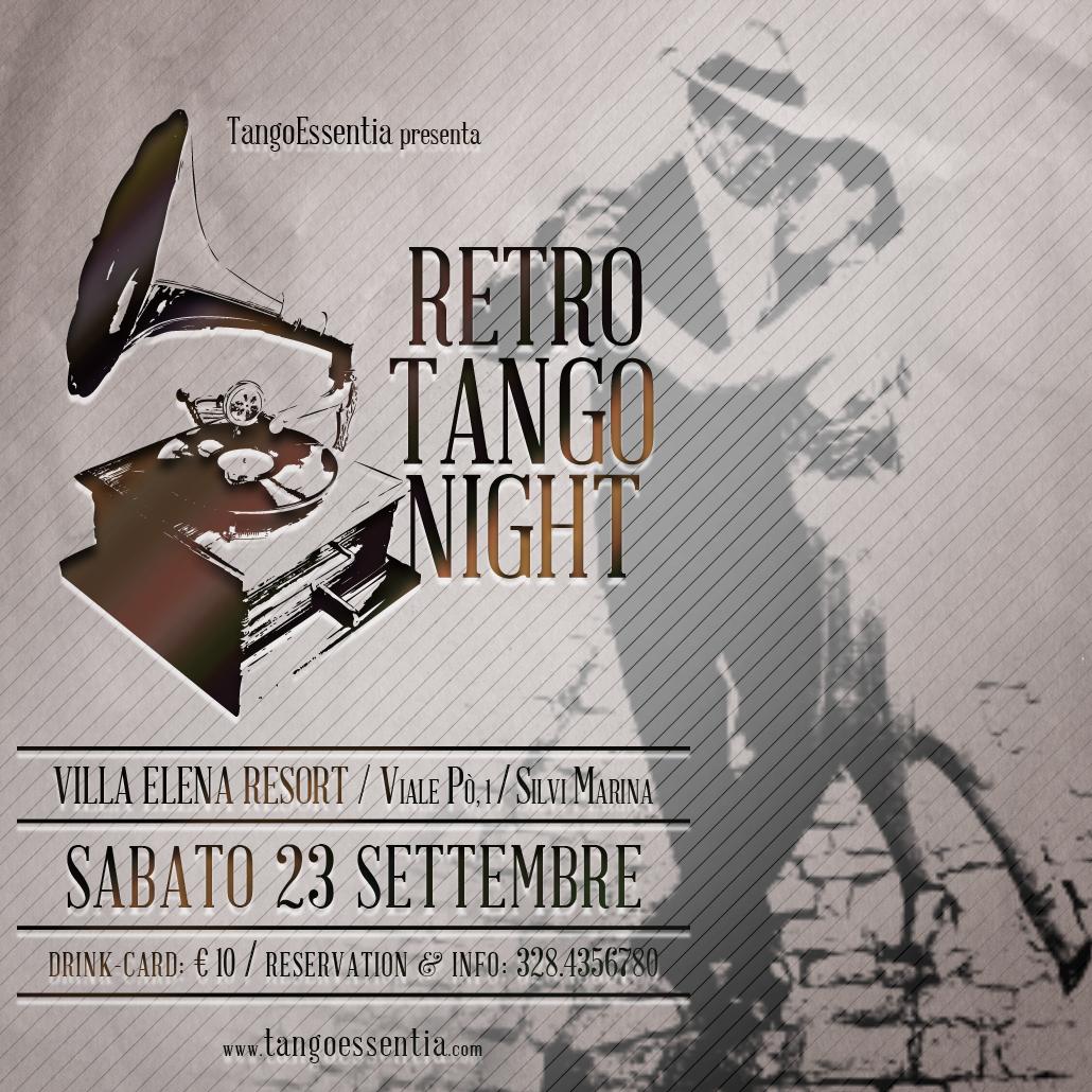 Retro Tango Night con Tango Essentia
