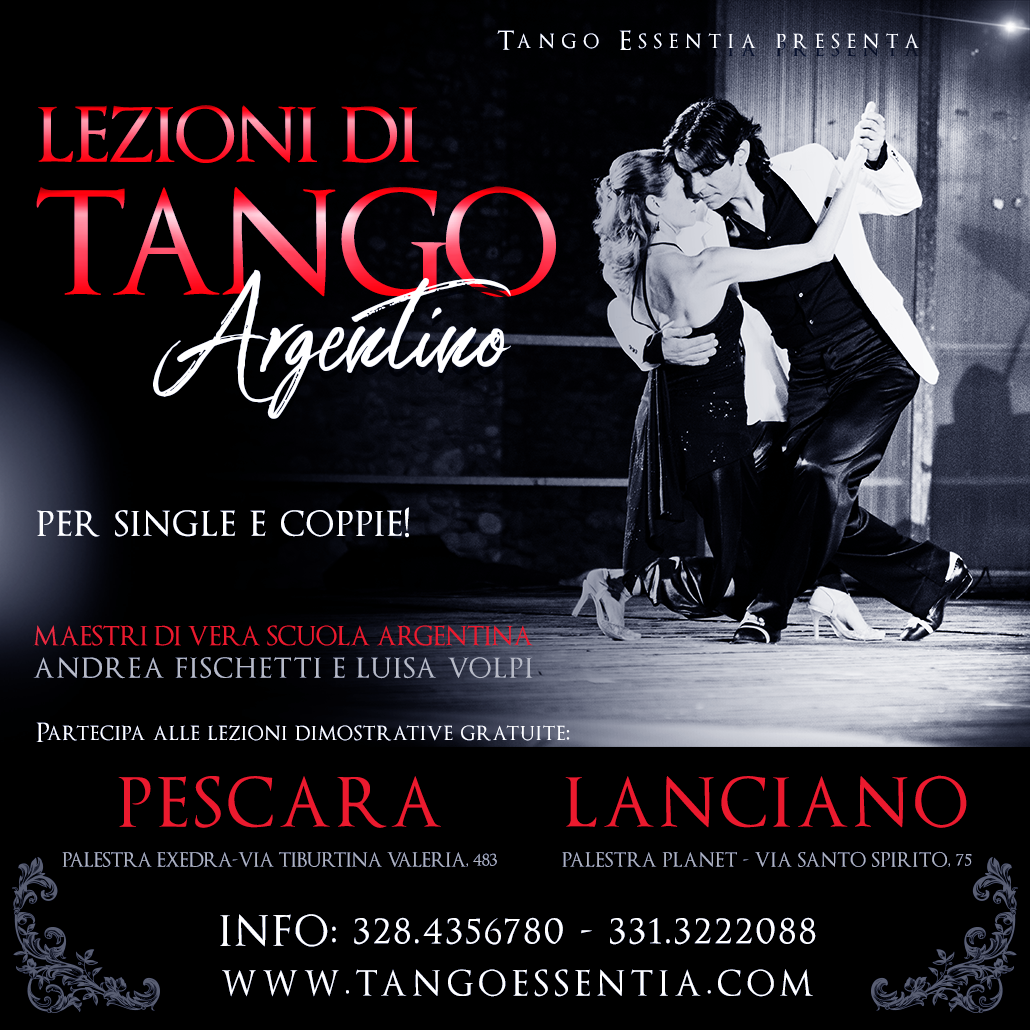 Scuola di Tango Argentino con Tango Essentia