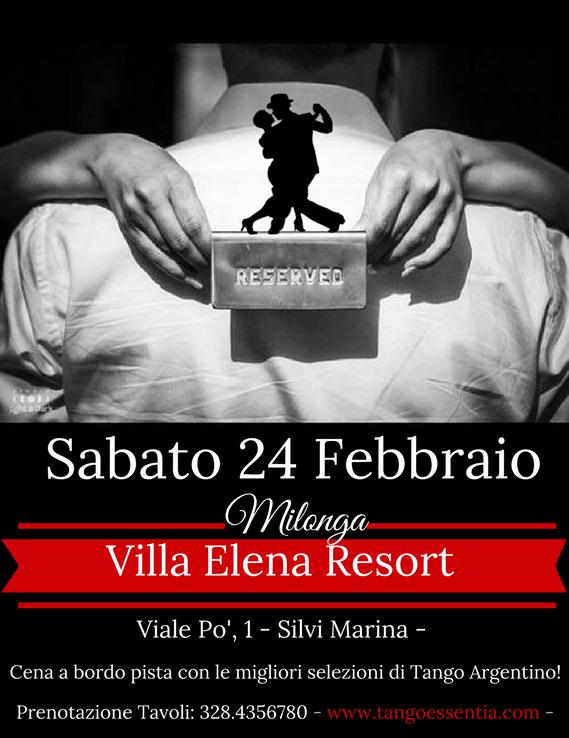 Tango Argentino al Villa Elena Resort con Tango Essentia.