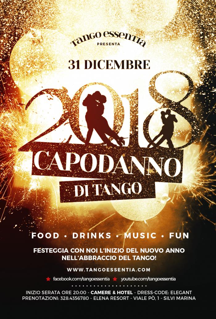 Capodanno con Tango Essentia al Villa Elena Resort
