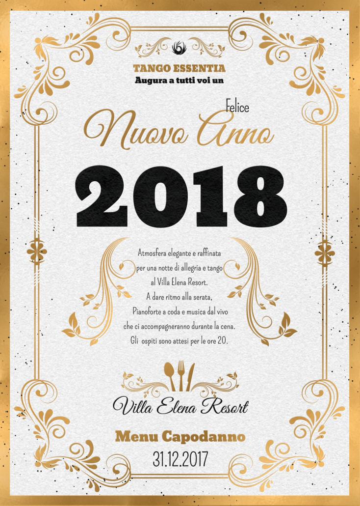 Capodanno 2018 con Tango Essentia