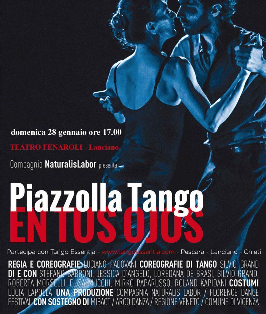 A teatro con Piazzolla Tango - En tus Ojos