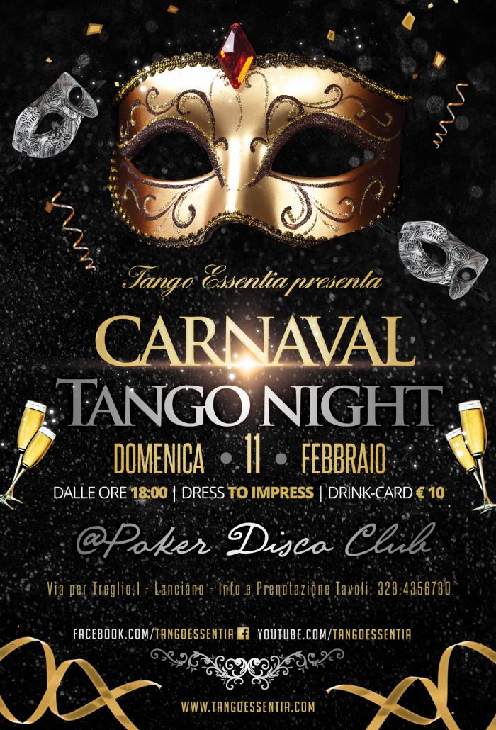 Carnevale con Tango Essentia