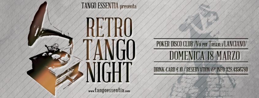 Milonga con Tango Essentia