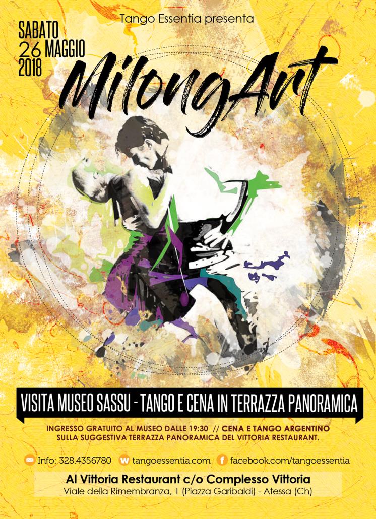 Milonga e tango ad Atessa