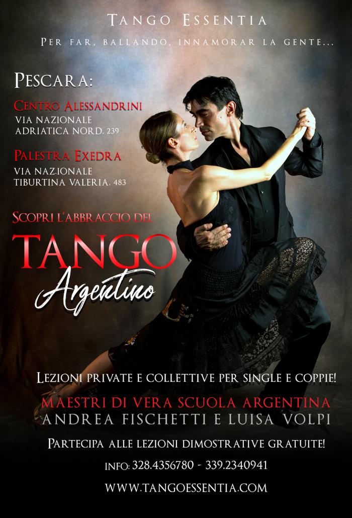 Lezioni di tango argentino a Pescara