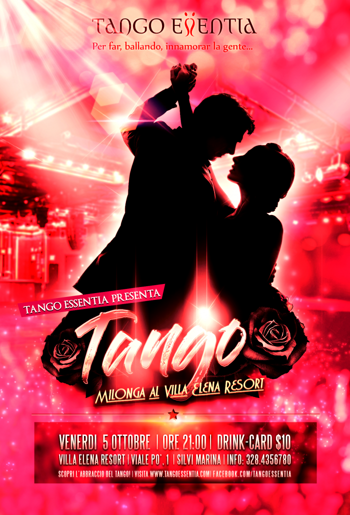 Milonga a Silvi Marina con Tango Essentia