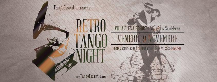 Milonga Retro Tango Night a Silvi Marina