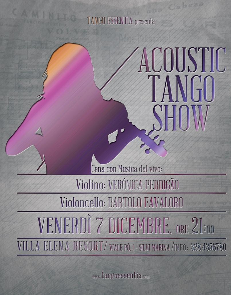 Tango e musica dal vivo con Tango Essentia