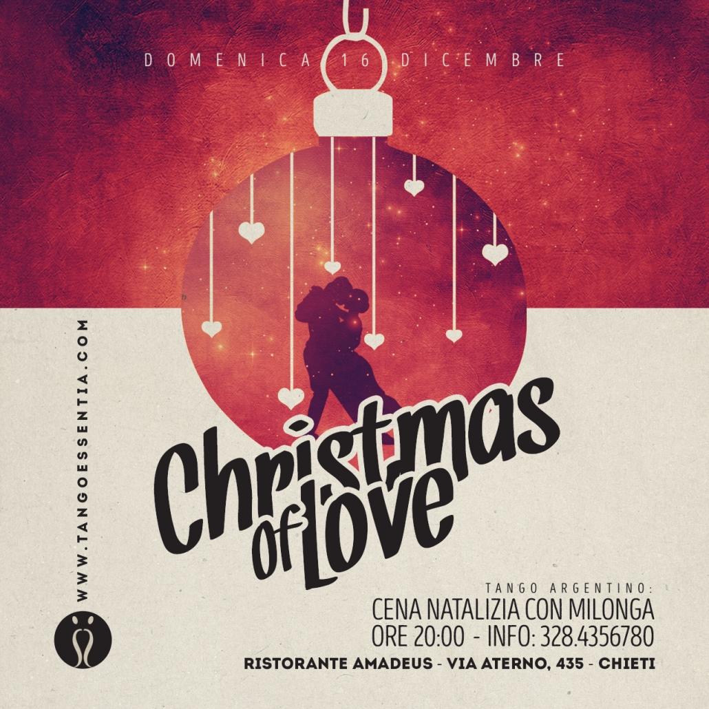 Christmas of love al ristorante Amadeus