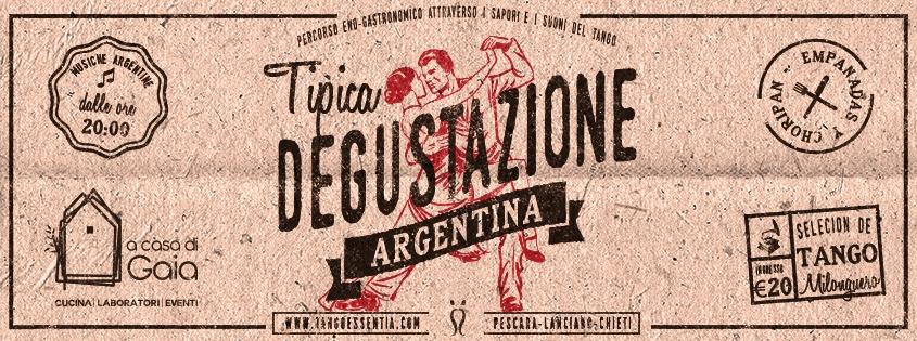 Degustazione con cena argentina