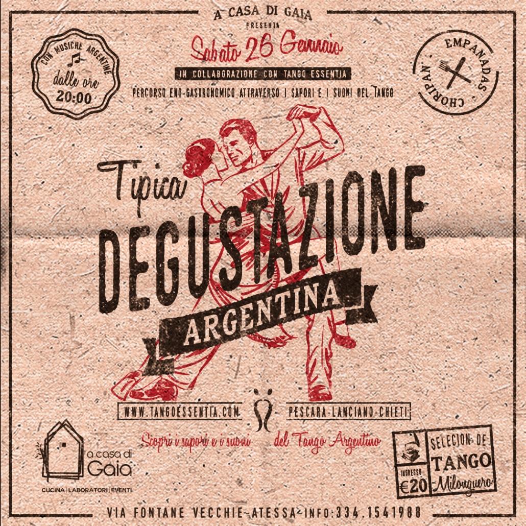 Degustazione tipica argentina Sabato 26 Gennaio ad Atessa