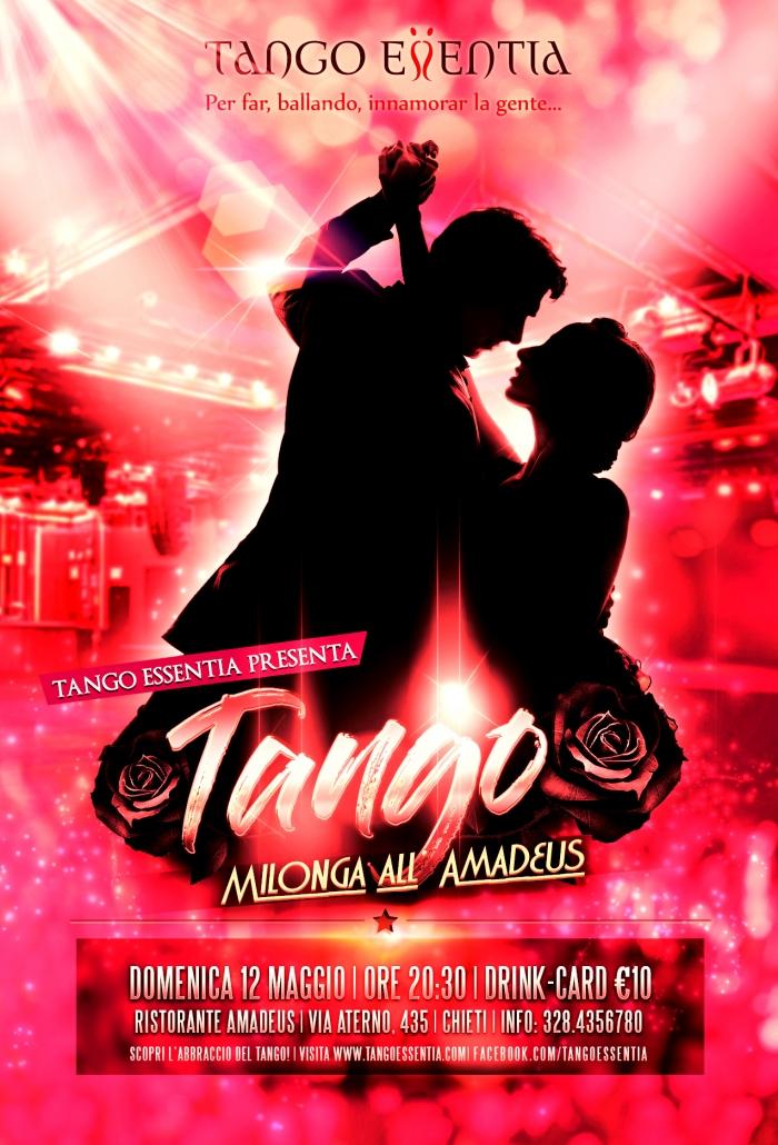 Tango argentino al ristorante Amadeus di Chieti