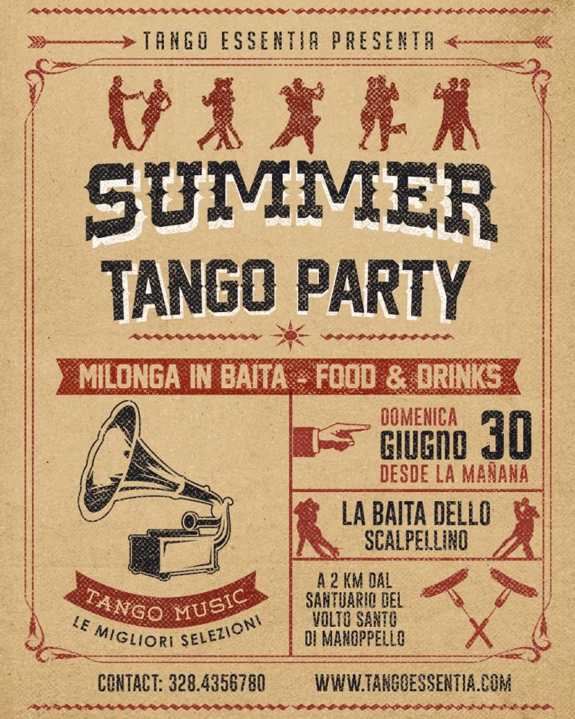 Milonga in Baita con Tango Essentia