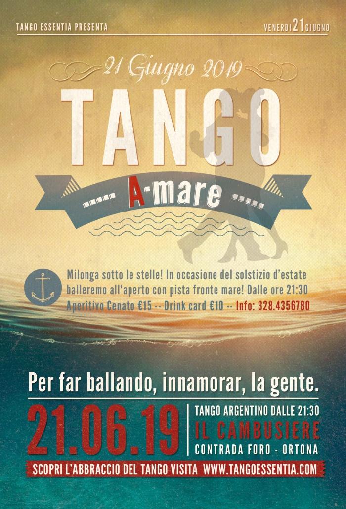 Tango a mare al Cambusiere Beach Club