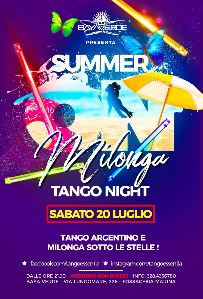 Tango argentino al Baya Verde di Fossacesia Marina