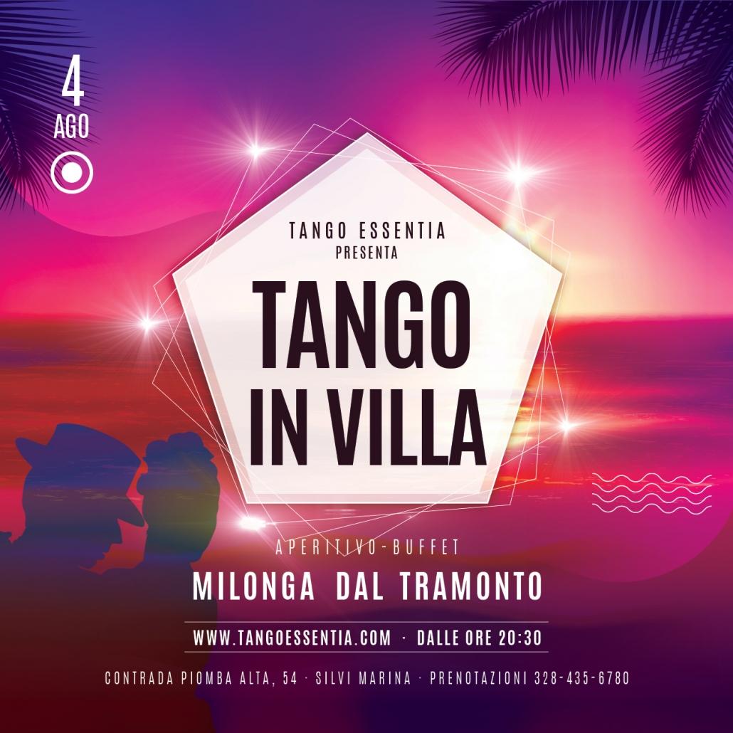 Tango in Villa a Silvi Marina con Tango Essentia
