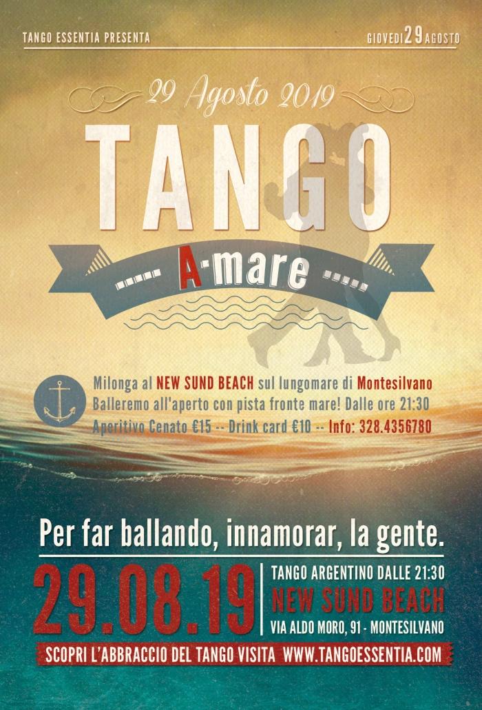 Tango argentino a Montesilvano presso il New Sund Beach con Tango Essentia.