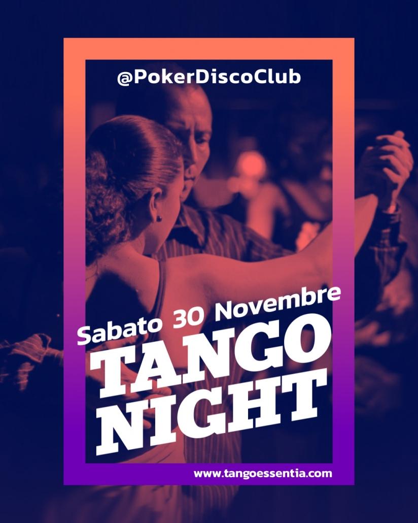 Tango argentino al Poker Disco Club di Lanciano con Tango Essentia
