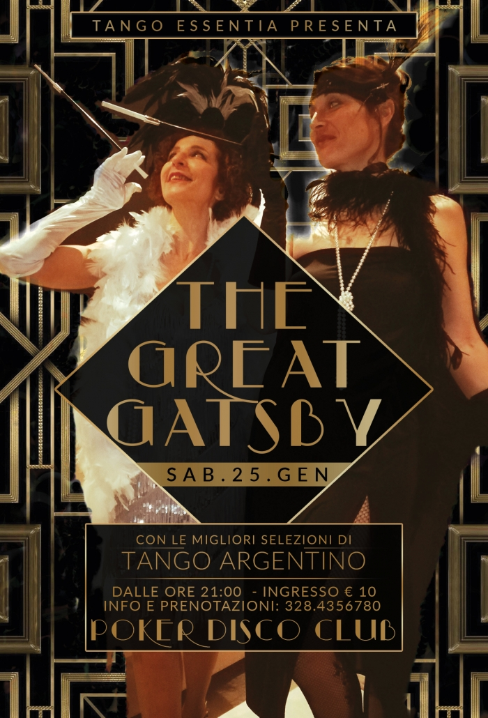 The Great Gatsby Tango a Lanciano
