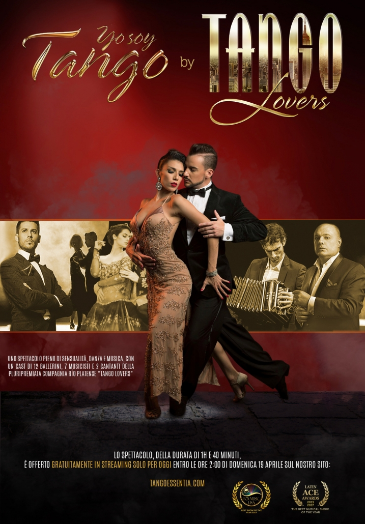 Yo soy tango lo spettacolo di tango in streaming gratuito.